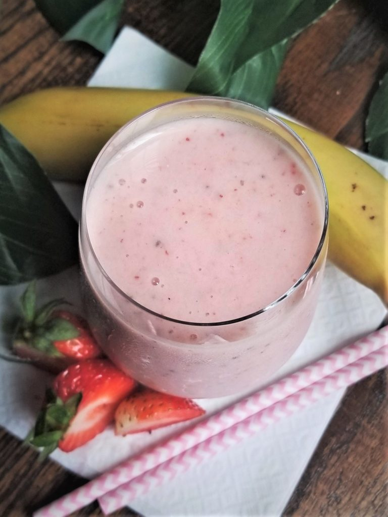 strawberry banana smootthie