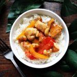 cashew ginger chicken