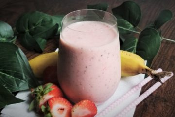 strawberry banana smootthie