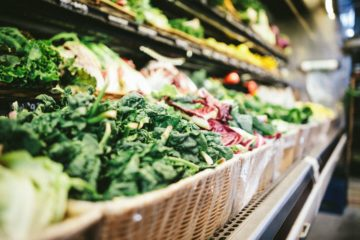produce aisle at store