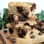 Coconut Flour Blondies