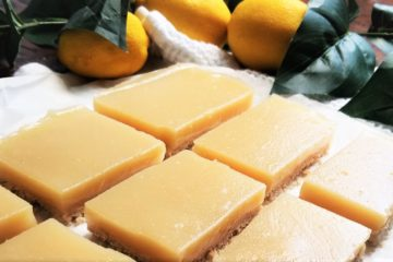 Lemon Squares Close Up
