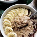 chocolate almond oats