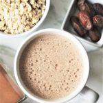 spiced oat latte